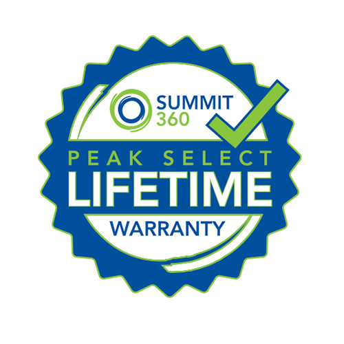 Summit 360 Peak Select Lifetime Warranty